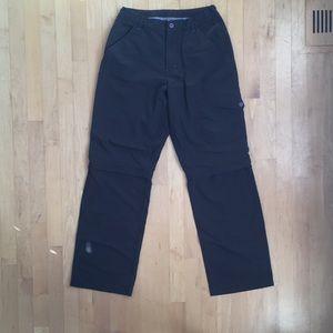 NWOT MEC zip-off convertible hiking pants sz 16